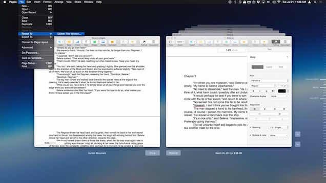 Delete Previous Versions of Files in OS X with this Menu Option