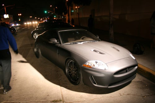 Jaguar XKR Matte Gray