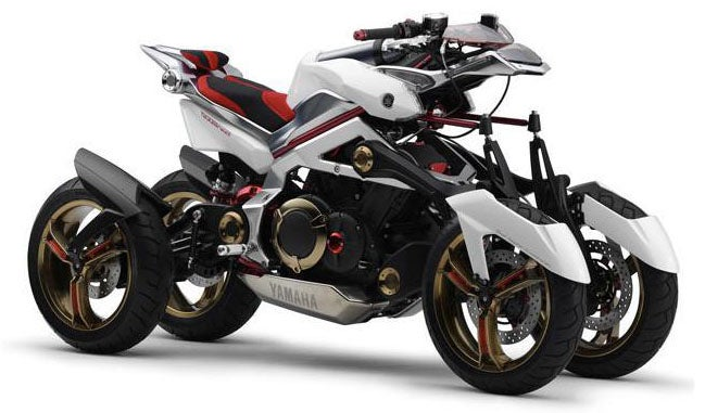 Yamaha Tesseract Hybrid, Motorcycle for Superheroes/Badasses/Us?/No