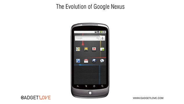 Watch the Entire History of Nexus Phones in Just Three Seconds