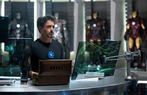 Iron Man 2 First Photo Fires Up Our Rocket Boots