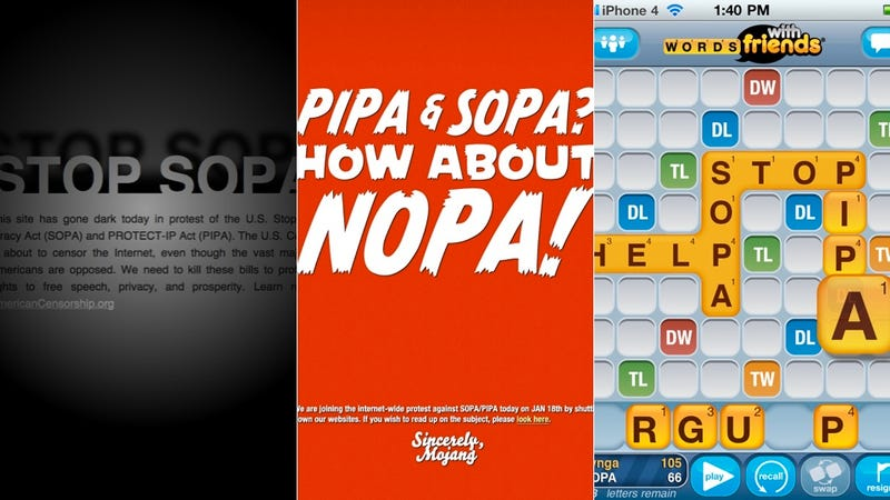 Adios, SOPA. House Shelves Bill Indefinitely.