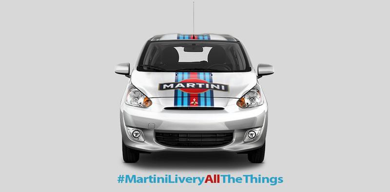 #MartiniLiveryAllTheThings