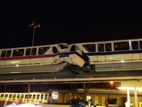 Disney's Scariest Ride: The Monorail Crash