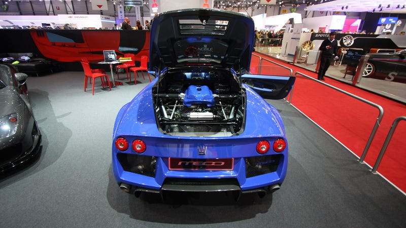 No Doubt About The Noble M600 Being Mid-Engined