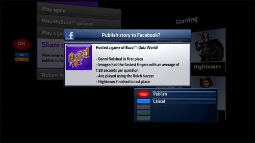 The First Console Game With Facebook Publishing