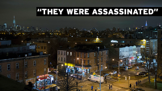 "Two Cops Shot ""Execution-Style"" in Brooklyn; NYPD Turns on Mayor"