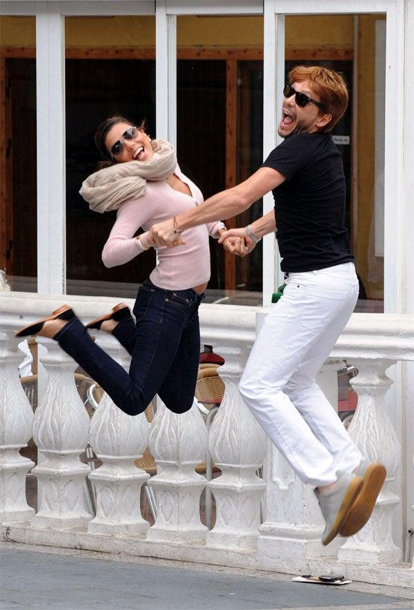 Eva & Ken Jump For _______