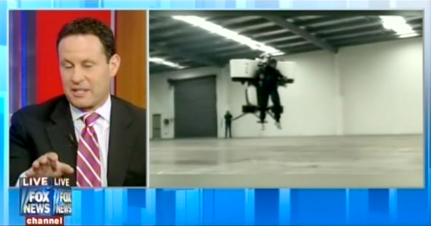 Fox News Falls For Fake Story About Los Angeles Ordering 10,000 Jetpacks (Updated)