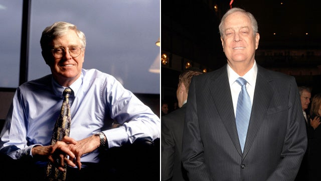 Koch Brothers to Democrats: Stop Asking us For Money