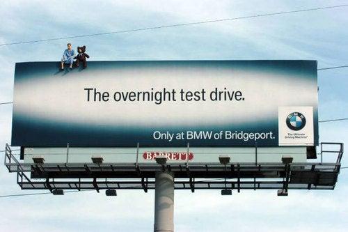 BMW Bridgeport Billboard: Advertising Photos