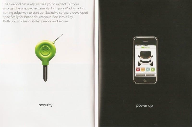 Chrysler's Peapod 'Neighborhood Car' Turns Your iPhone Into a Key