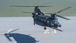 First New-Build MH-47G Spec Ops Chinook Takes Flight