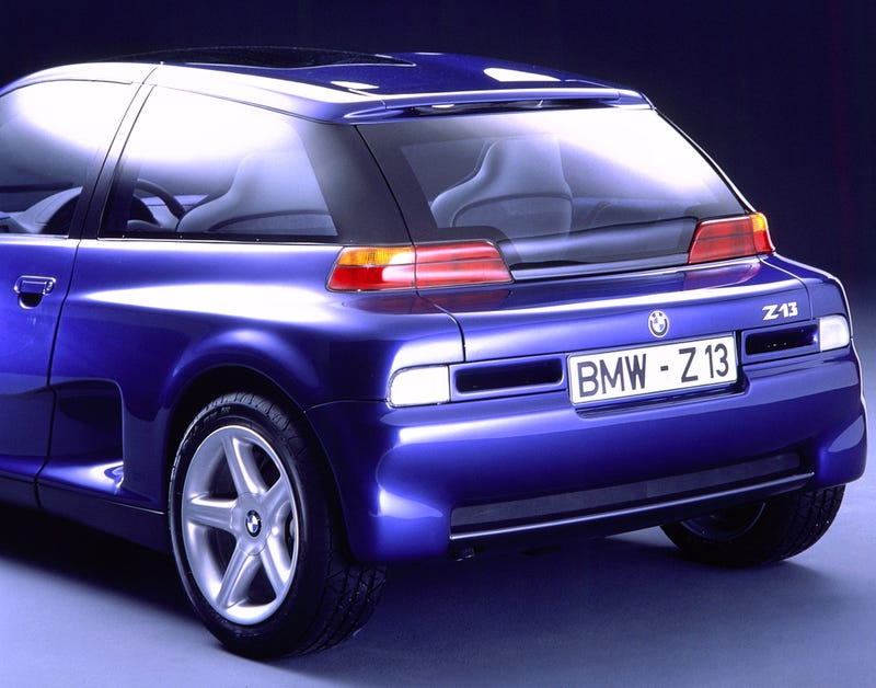 The BMW i3 Looks A Lot Like This Crazy Forgotten 90s Concept Car