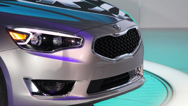 Kia Is Now Making A Near-Luxury Flagship
