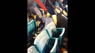 Jaguars Fans Brawl Over Free T-Shirt