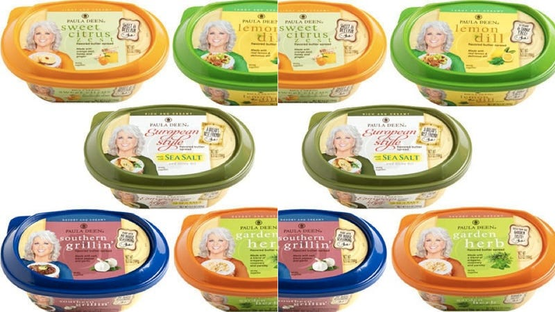Paula Deen's Vocation Comes Full Circle: Her Face is on Some Butter