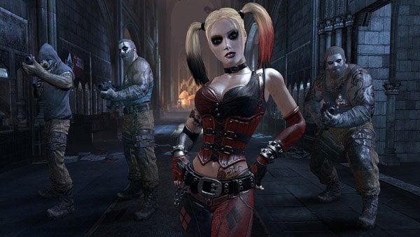Concept art shows the disturbing evolution of Batman: Arkham City's Harley Quinn