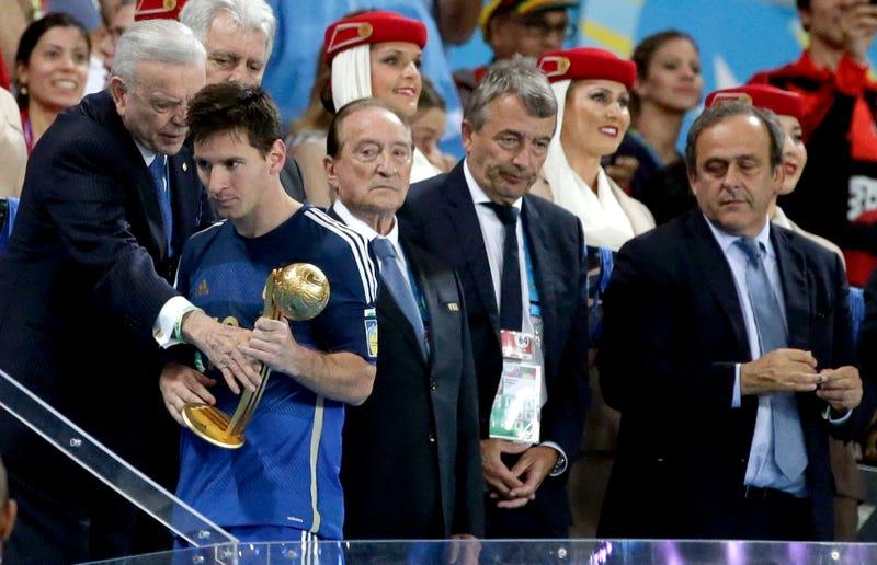 "Maradona Calls Messi's Golden Ball Win A ""Marketing Plan"""
