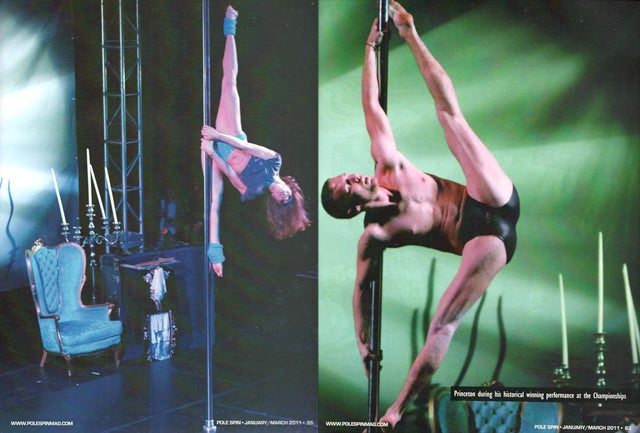 Pole Dancer Magazine Features Kids