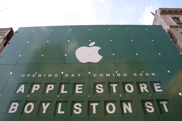 New Boston Apple Store Largest In The United States (Updated Again)
