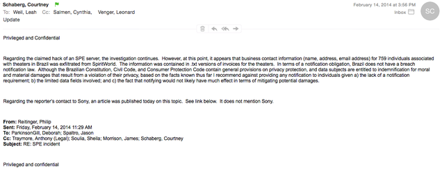 Sony Pictures sufrió el primer ataque en febrero y decidió ocultarlo