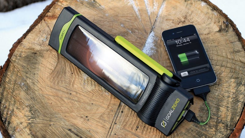 A Flashlight That's Powered By the Sun (Or Your Strength)