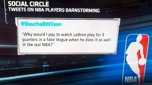 SportsCenter Wants You To Know What Douche B. Wilson Thinks Of LeBron Barnstorming