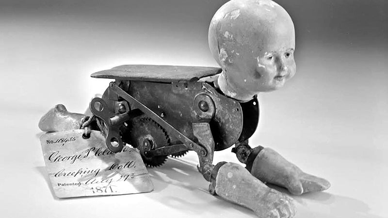 A Mechanical Doll That Will Crawl All the Way Into Your Nightmares