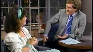 The Letterman Clip That Became David Foster Wallace's First Print Story