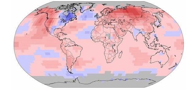 Es oficial: la primera mitad de 2015 fue la más calurosa desde 1880