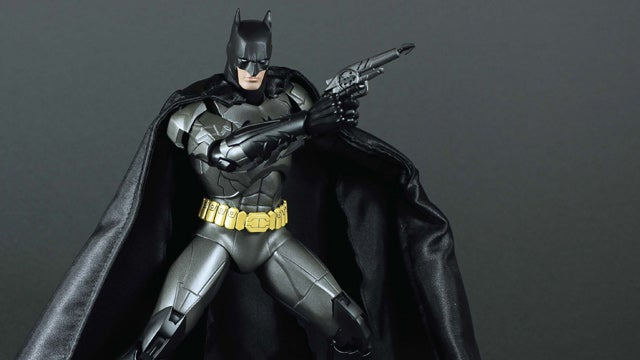 I'm in Love With a Giant Batman Figure That's Made Out of Metal