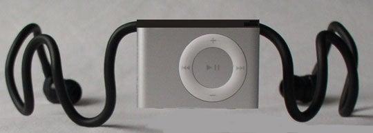 Arriva 'Wireless' iPod Shuffle Headphones