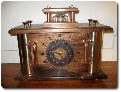 Son Gets Steampunk Clock As Wedding Present From Dad