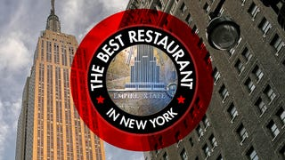 The Best Restaurant in New York Is: The Empire State Building