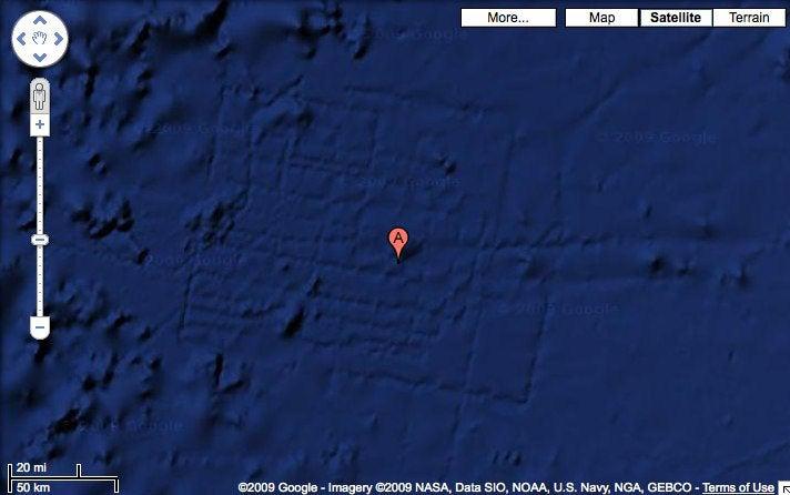Google Maps Reveal Lost City of Atlantis?