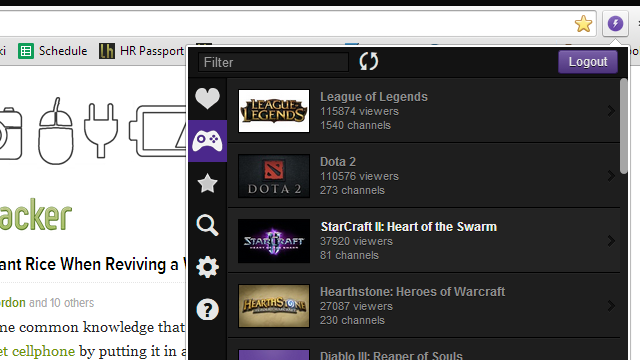 Twitch Now Manages Your Gaming Streams, Notifies You of New Activity