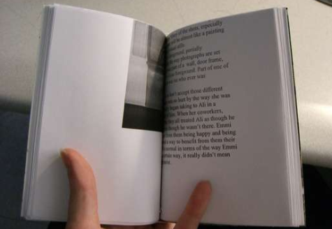 Turn used office paper into blank books
