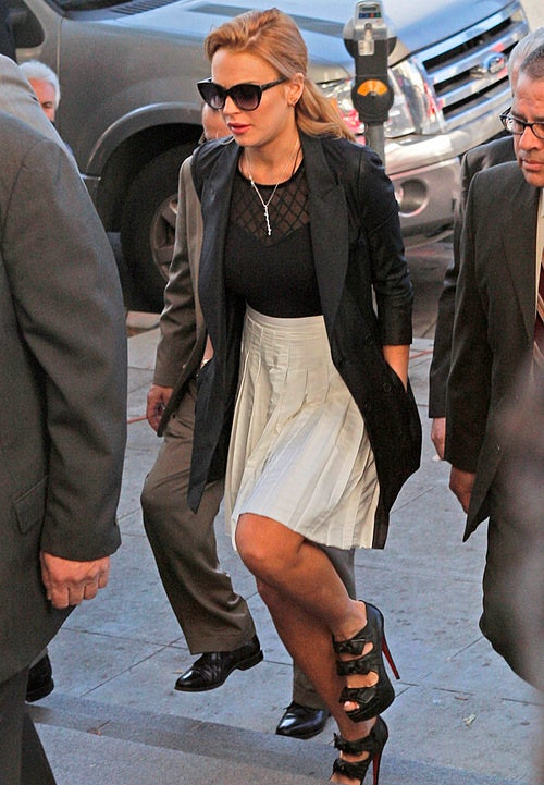 Lindsay Lohan Is Free