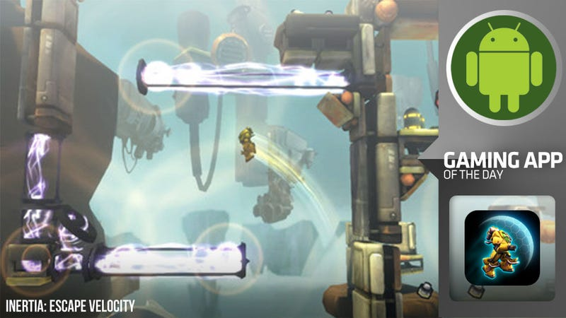 Inertia Catapults From Xbox Live Indie Darling to Android Excellence