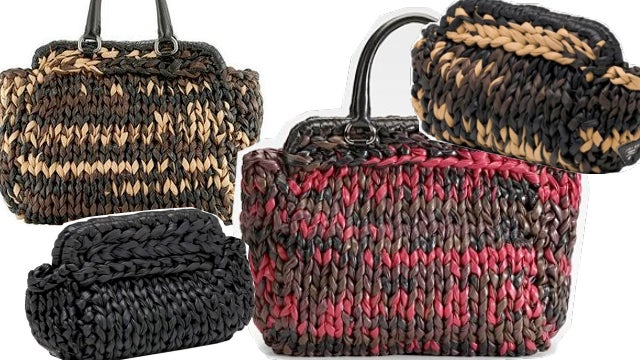 How To Knit A Prada-Inspired Purse