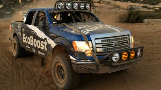 Disguised '15 F-150 Baja 1000 DNF?