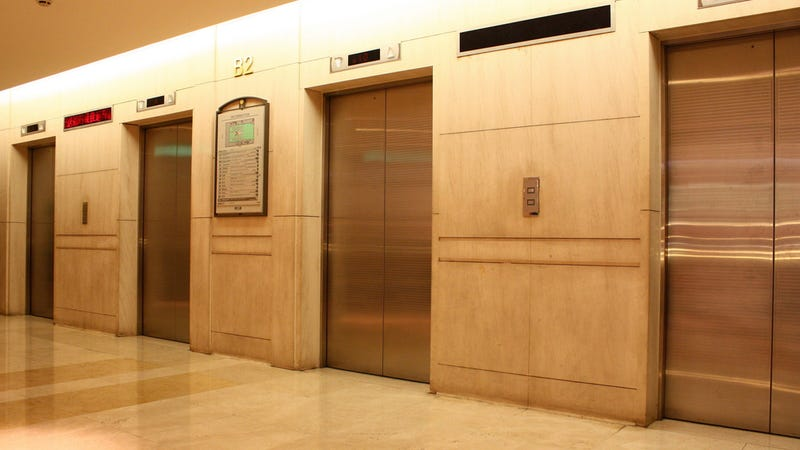 Firefighter Rescues Man from Stuck Elevator, Both Immediately Get Trapped in Another Elevator