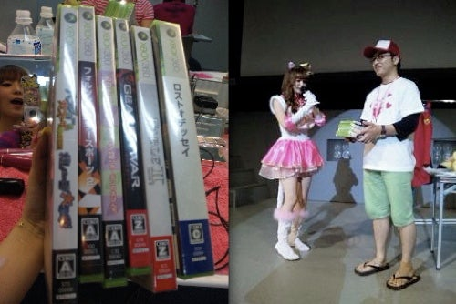 Shoko Nakagawa Gives Away Some of Her Xbox 360 Games