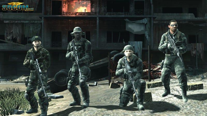 SOCOM Confrontation Screens, Art & More