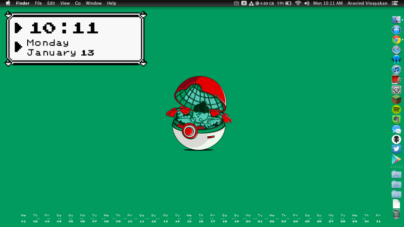 The Pokémon Desktop