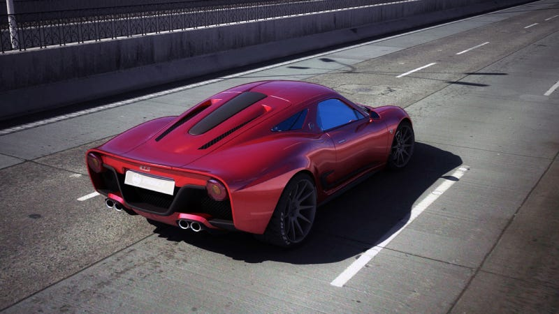 This Is Italy's Sexiest New Zombie Sports Car