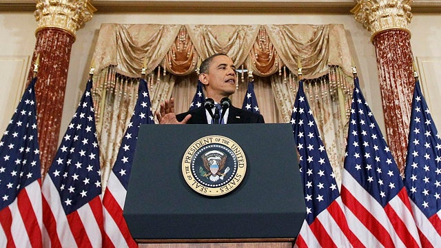 Obama Lays Out His Middle East Policy in Major Address