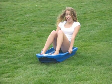 Slicer Brings Sledding to Summertime
