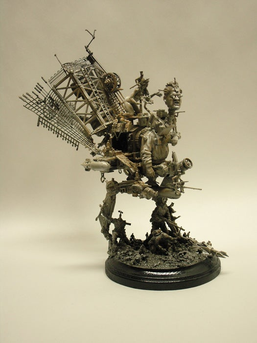 Apocalyptic Machine Scultpures are Wonderful in a Morbid, Sinister Sort of Way